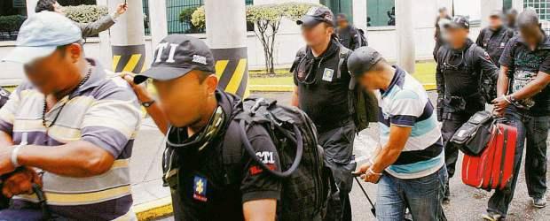Ocho presuntos 'Rastrojos' fueron capturados en Chocó