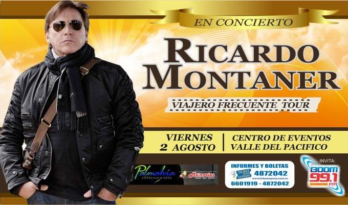 90minutos.co te lleva al concierto de Ricardo Montaner