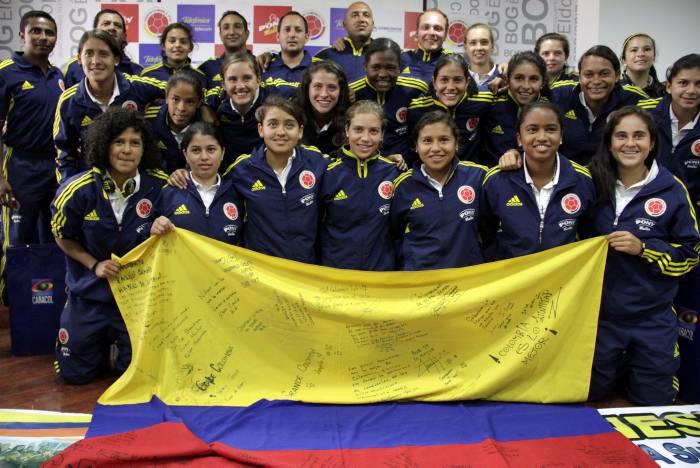 Lista la nómina de la selección Colombia femenina sub 17