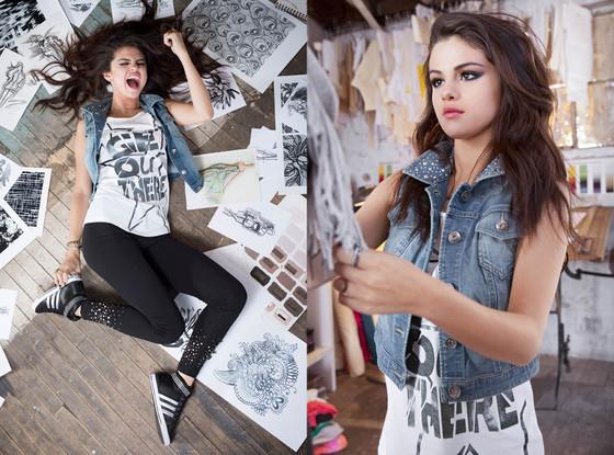 Selena Gómez lanza su primera línea de ropa para Adidas NEO