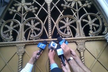 Sindicalistas del Estado se tomaron La Ermita