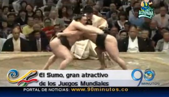 """Juegos Mundiales Cali 2013: El sumo, un show deportivo """"de peso"""""""