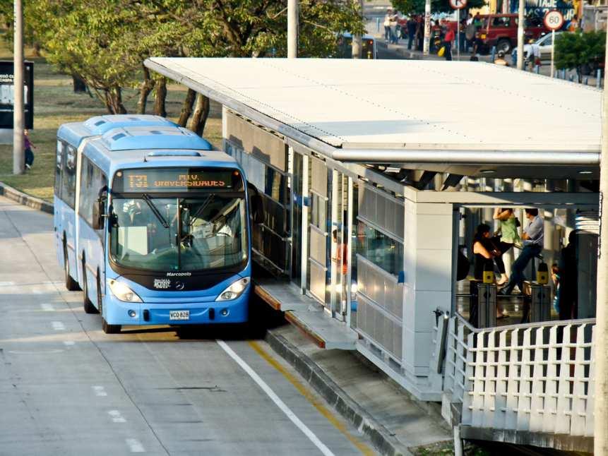 Incendio en bus del MIO no dejó personas heridas