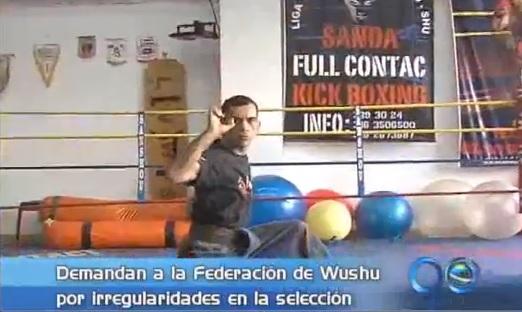 Entrenador del Valle demandó a la Federación colombiana de Wushu