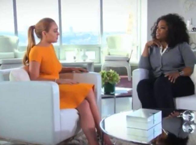 Adelanto de la entrevista de Oprah a Lindsay Lohan
