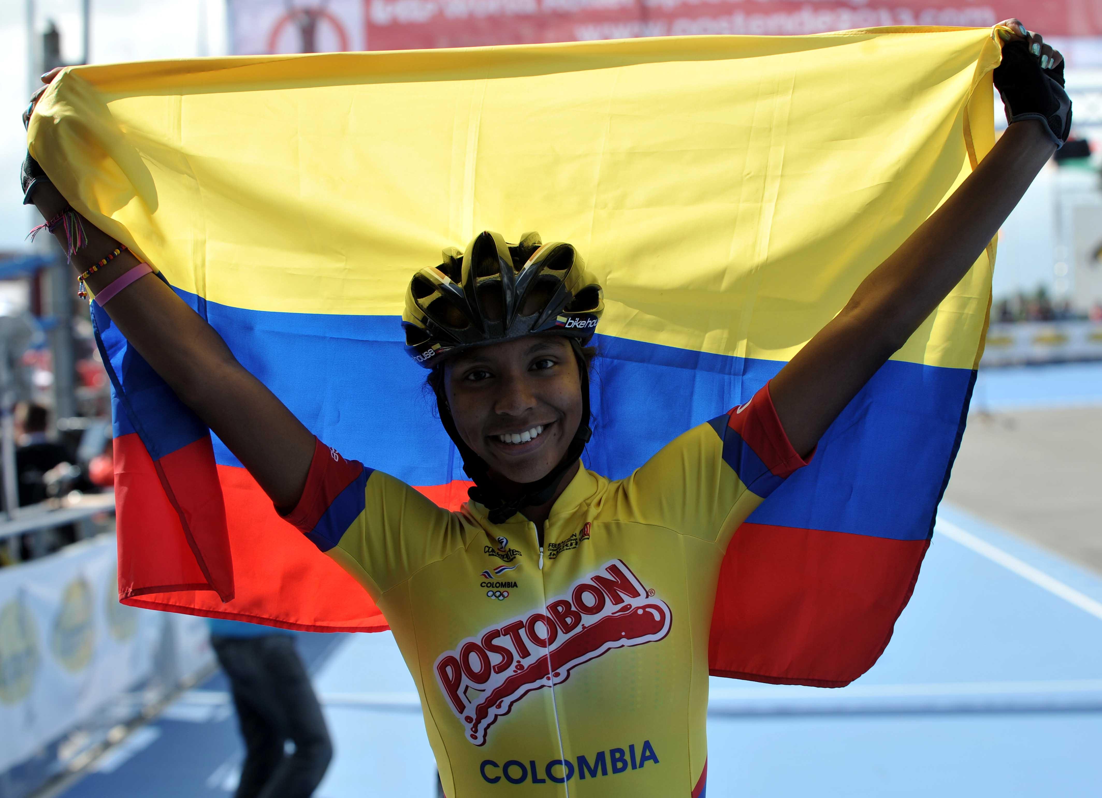 Colombia dominó en Bélgica, con tres nuevas marcas mundiales