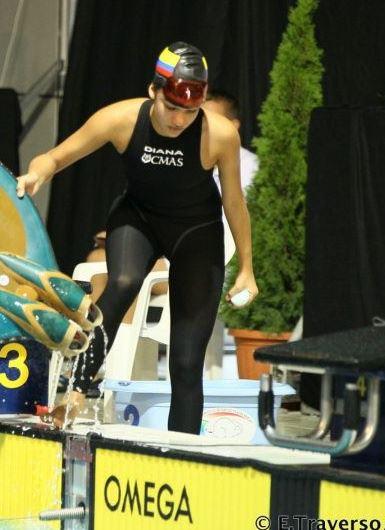 Colombia consigue oro en mundial de natación con aletas en Rusia