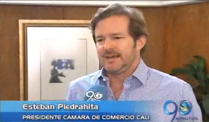 Esteban Piedrahita es el nuevo presidente de la Cámara de Comercio de Cali