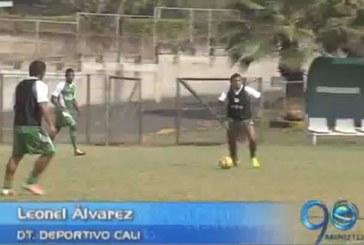 Deportivo Cali prepara su partido en Pasto