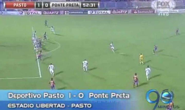 Deportivo Pasto visita al Colo Colo por la Copa Suramericana
