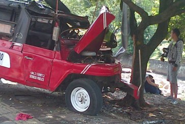 Accidente de una campero tipo guala deja diez heridos en el oeste de Cali