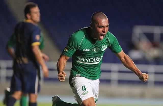 Cali  le ganó a Unión Magdalena con gol de Vladimir Marín