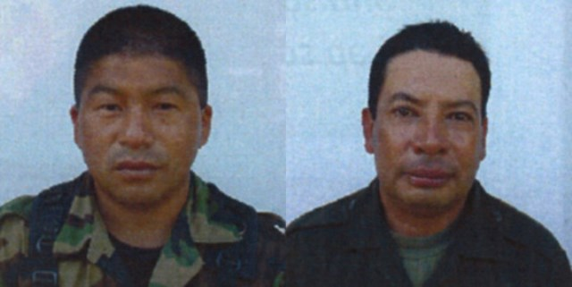 'El Burro' y 'Jaimito' abatidos en combate