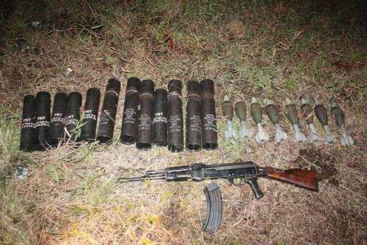 Policía incauta material bélico en la vía Cali – Buenaventura