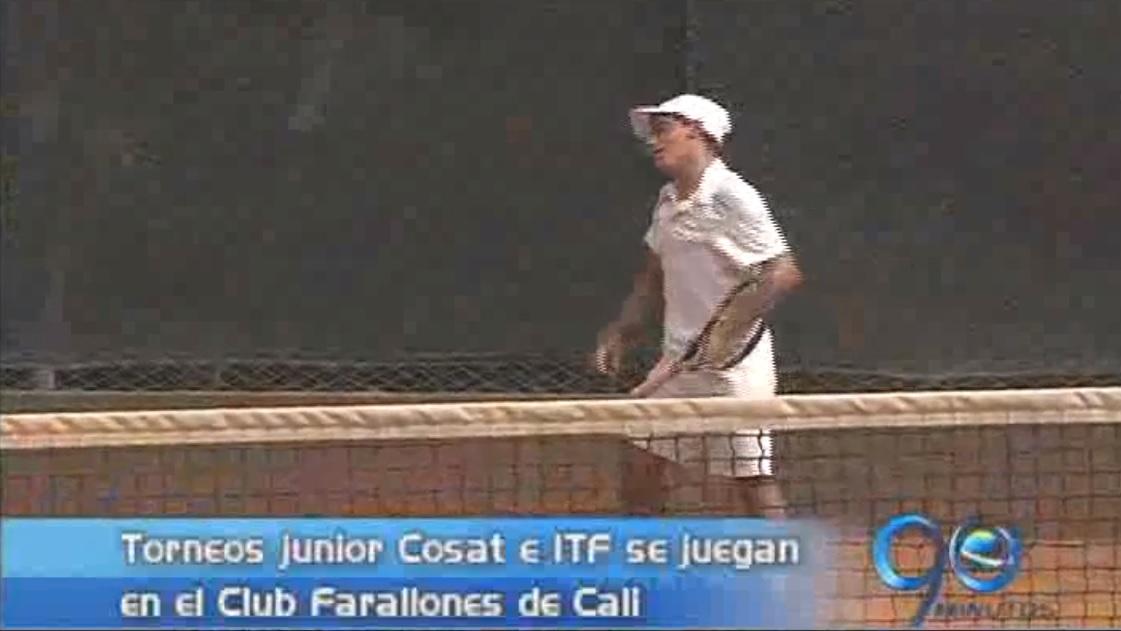 Iniciaron las copas Cosat e ITF de tenis en el Club Farallones de Cali