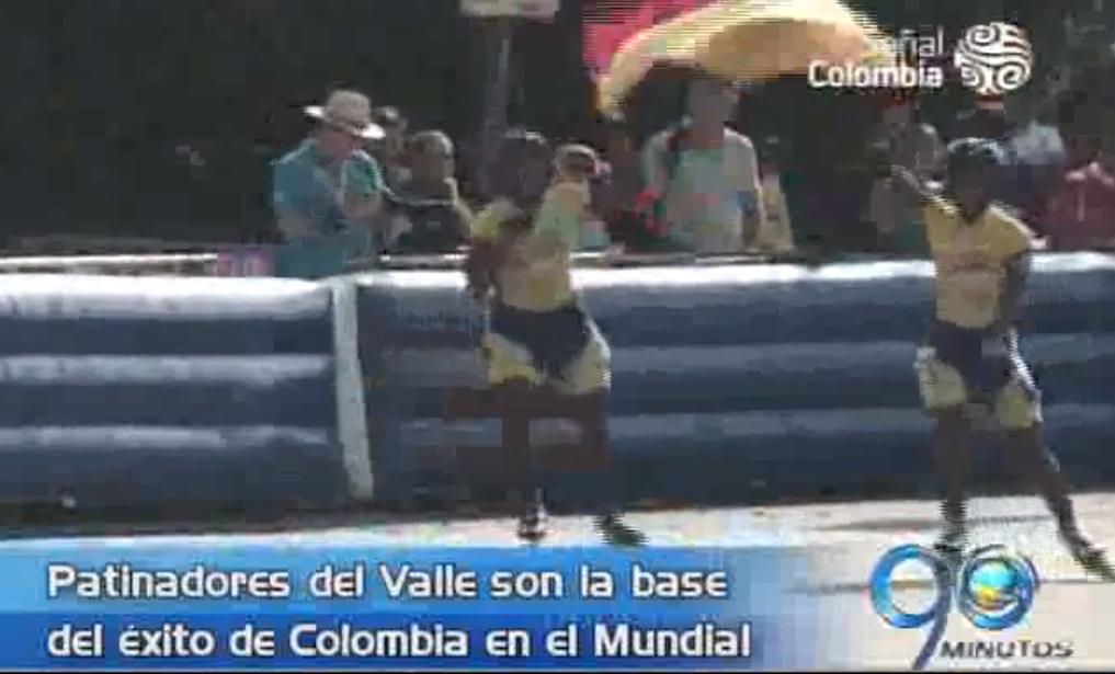Patinadores del Valle son la base del éxito de Colombia en el Mundial de Bélgica