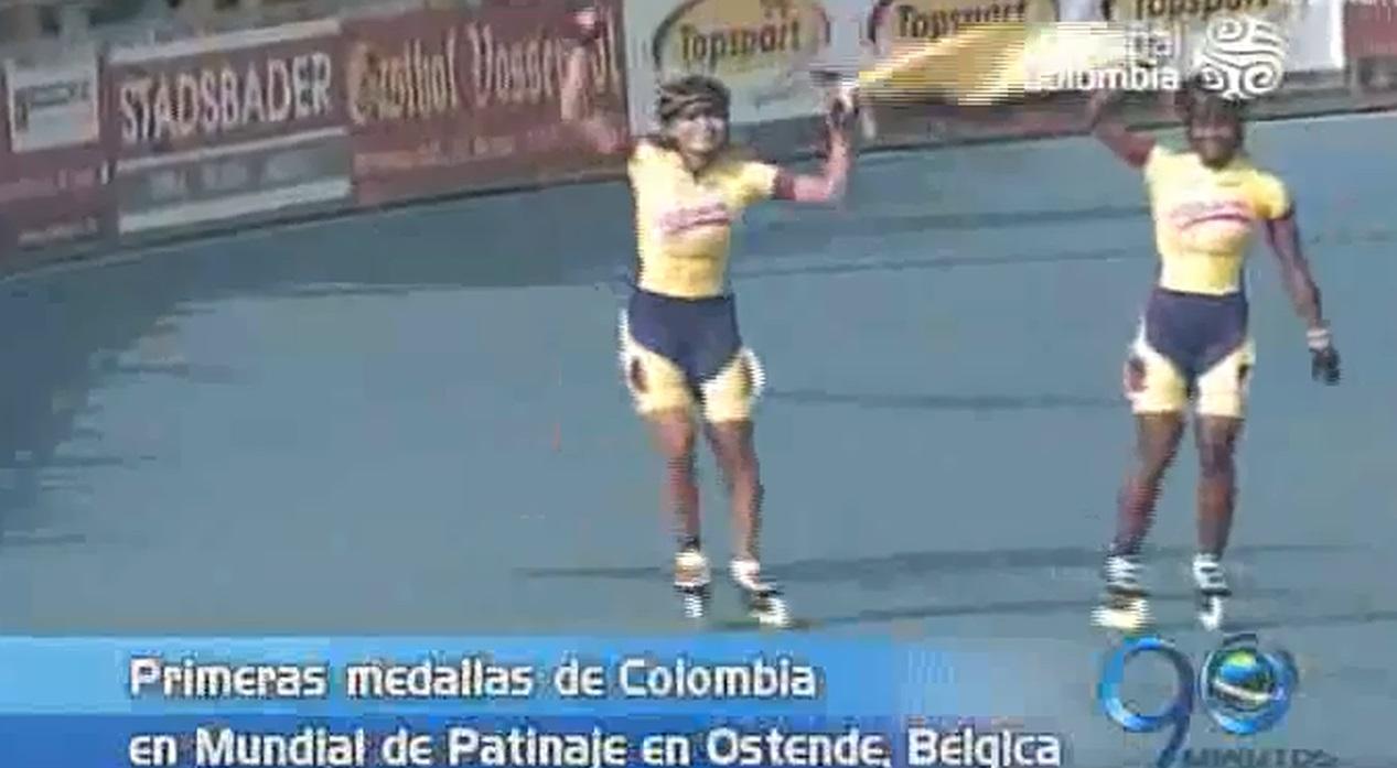 Arrollador debut de Colombia en Mundial de Patinaje