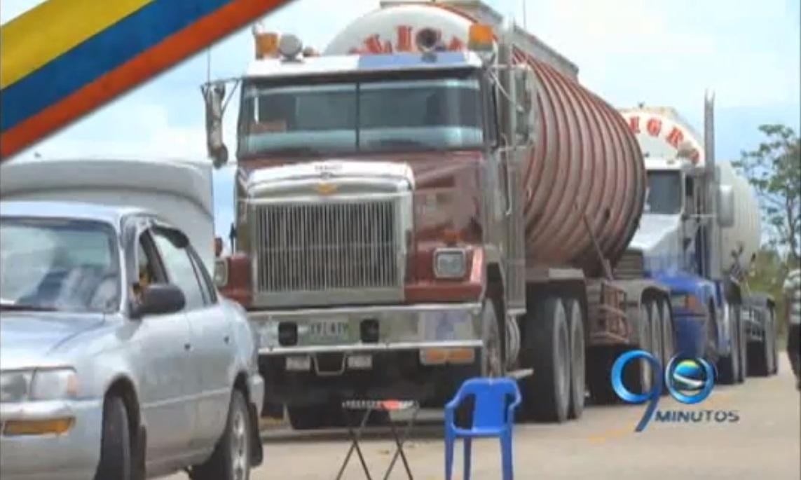 El gremio transportador de Buenaventura se une al paro agrario colombiano
