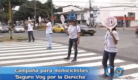 Campaña para los motociclistas 'Seguro Voy por la Derecha'
