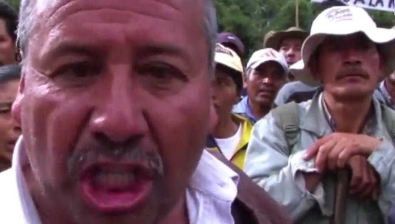 Fuertes protestas por paro agrario en Nariño