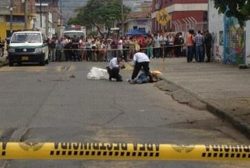 Dos presuntos asaltantes mueren en intercambio de disparos en el barrio Obrero