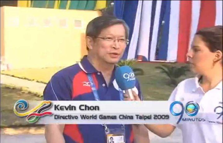 Delegado de China Taipei felicita la organización de los Juegos Mundiales de Cali