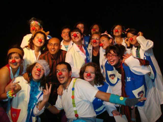 Los pacientes sonreirán con los clowns hospitalarios