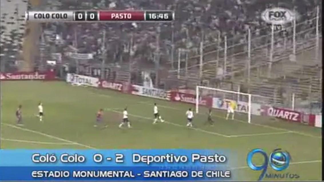 Deportivo Pasto eliminó a Colo Colo