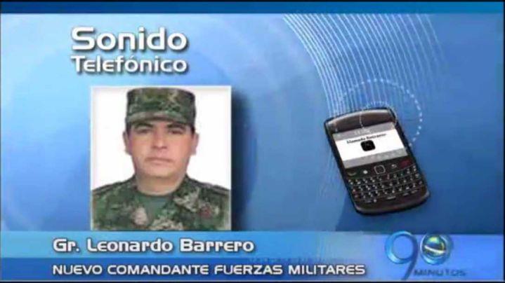 Perfil del nuevo comandante de las Fuerzas Militares