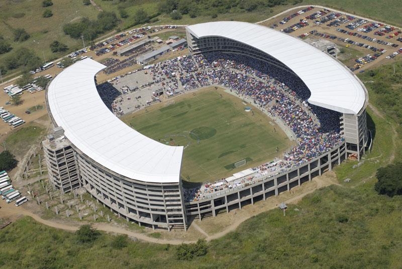 Deportivo Cali  vs. Boyacá Chicó, en el estadio de los verdes