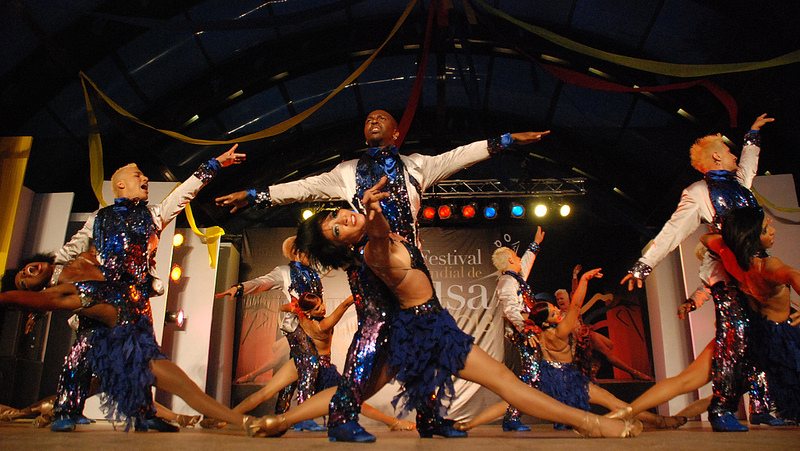 Cali bailó con los mejores, al ritmo de la salsa
