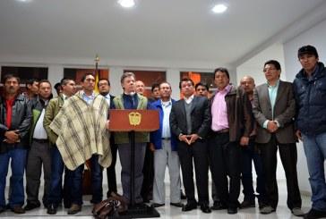 Paro agrario: se firmó pacto de no agresión entre  manifestantes y fuerza pública