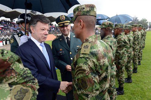 """""""Son las mejores Fuerzas Militares de la historia"""": Santos"""