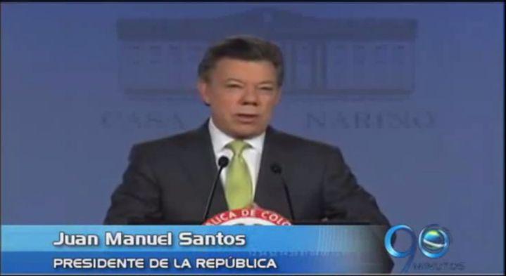 Presidente Santos reconoce abandono histórico del campo en Colombia