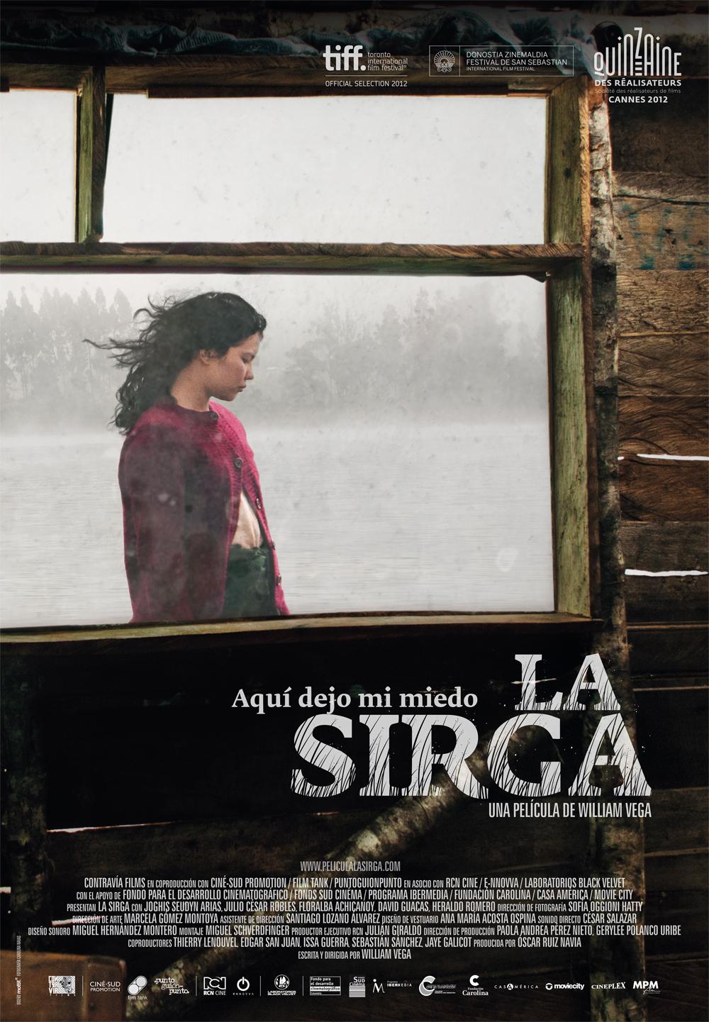 La Sirga, cine colombiano en Nicaragua.