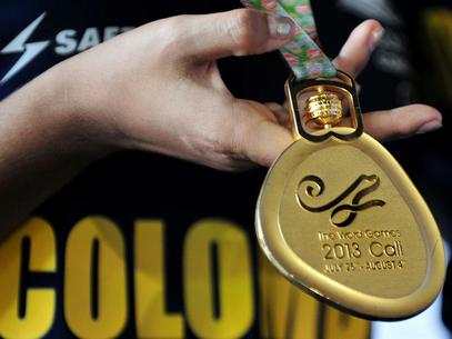 La medalla de oro es para Cali en los Juegos Mundiales