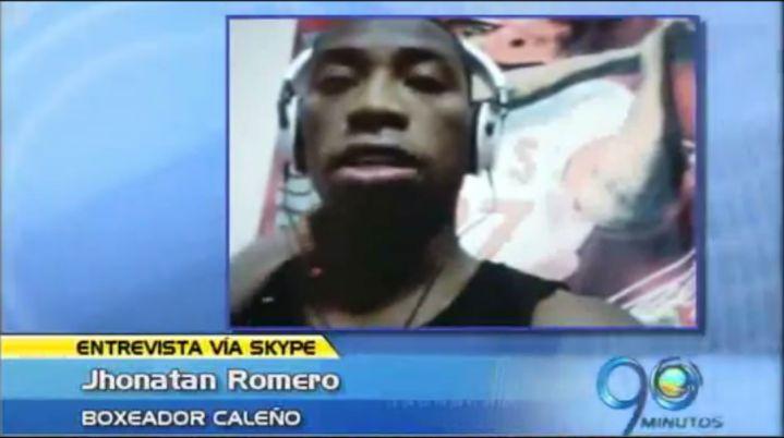 Jhonatan Romero prepara primera defensa del título mundial supergallo