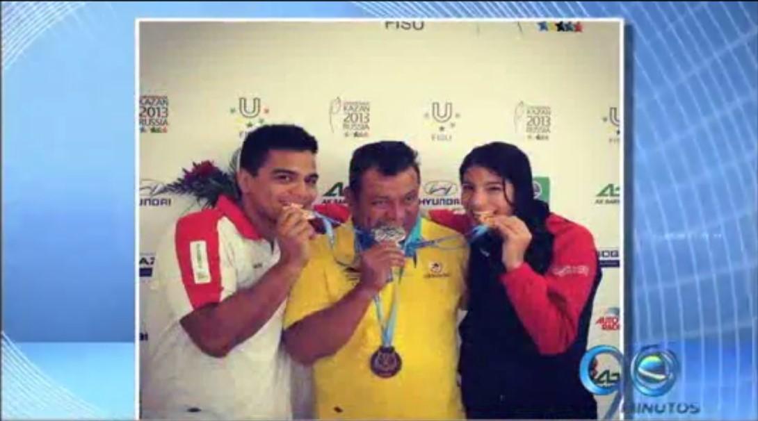 Los hermanos Fernández se destacaron en Mundial de Natación con Aletas en Rusia