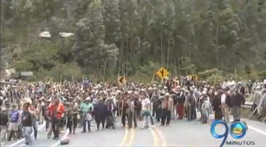 En medio de bloqueos y protestas se desarrolla paro en Nariño