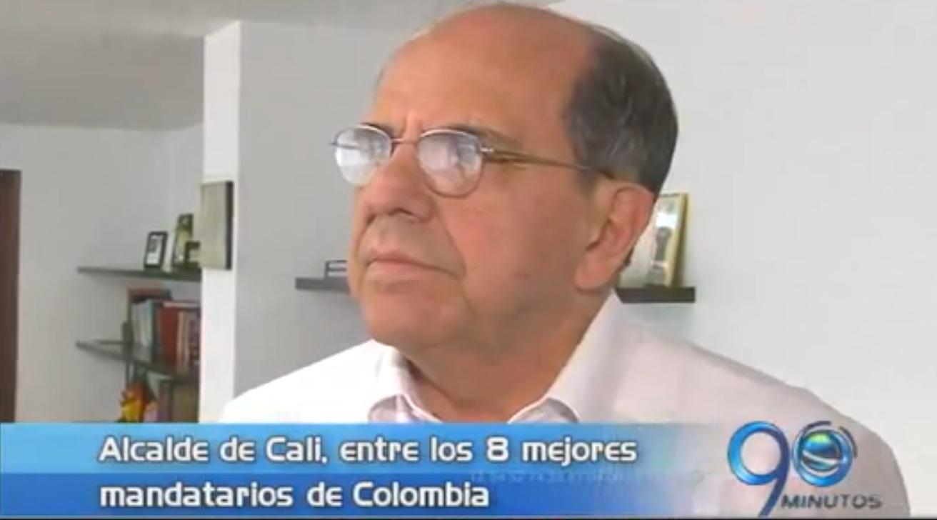 Alcalde de Cali entre los mejores de Colombia