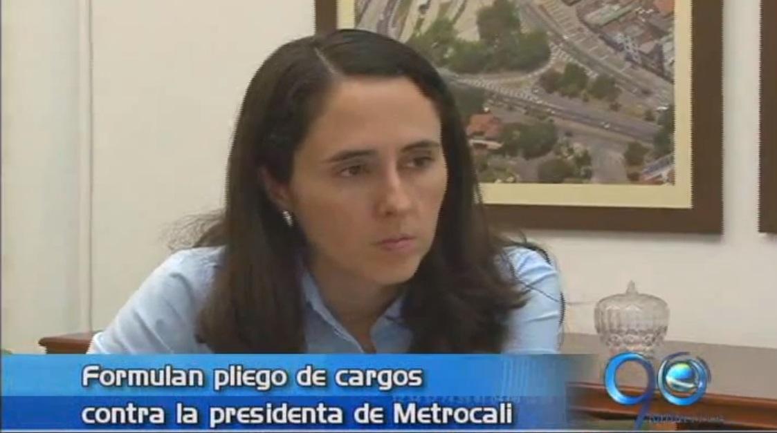 Procuraduría formula pliego de cargos contra presidenta de Metrocali