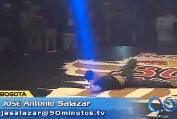 Colombiano el mejor latinoamericano en breakdance
