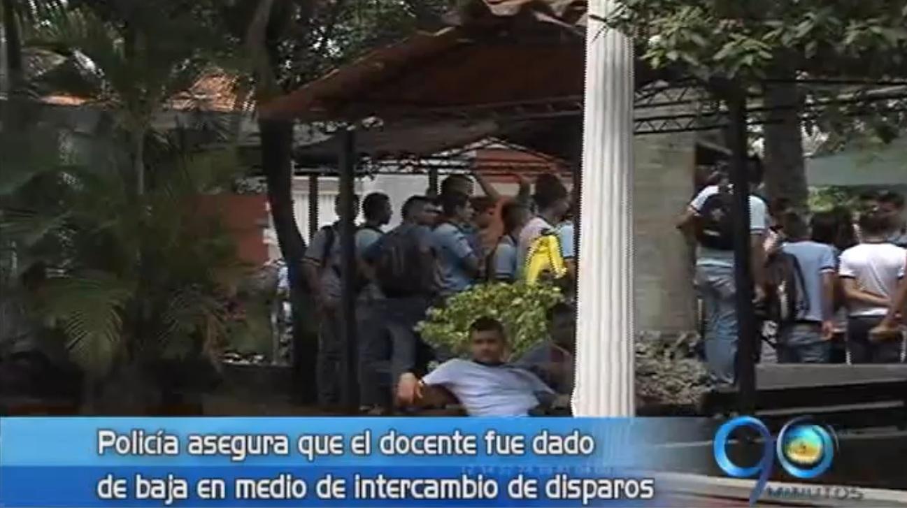 En confusos hechos mueren un docente y un patrullero de la Policía