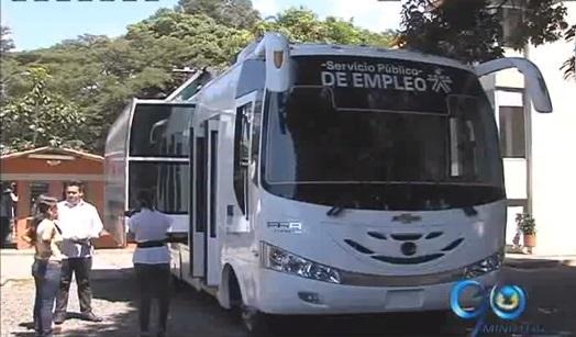 El Sena presenta su oficina móvil de empleo