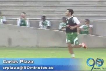 El paraguayo Néstor Camacho realizó primera práctica con Deportivo Cali
