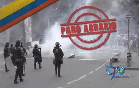 Paro agrario: Mininterior anunció levantamiento de los bloqueos