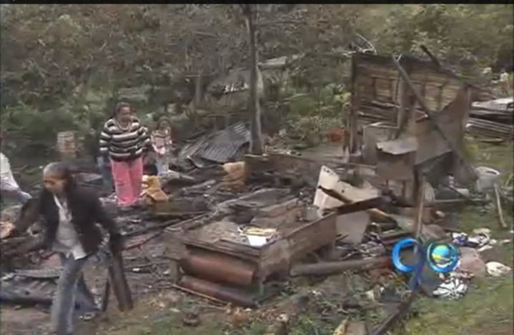 Disputa entre vecinos terminó con el incendio de sus casas
