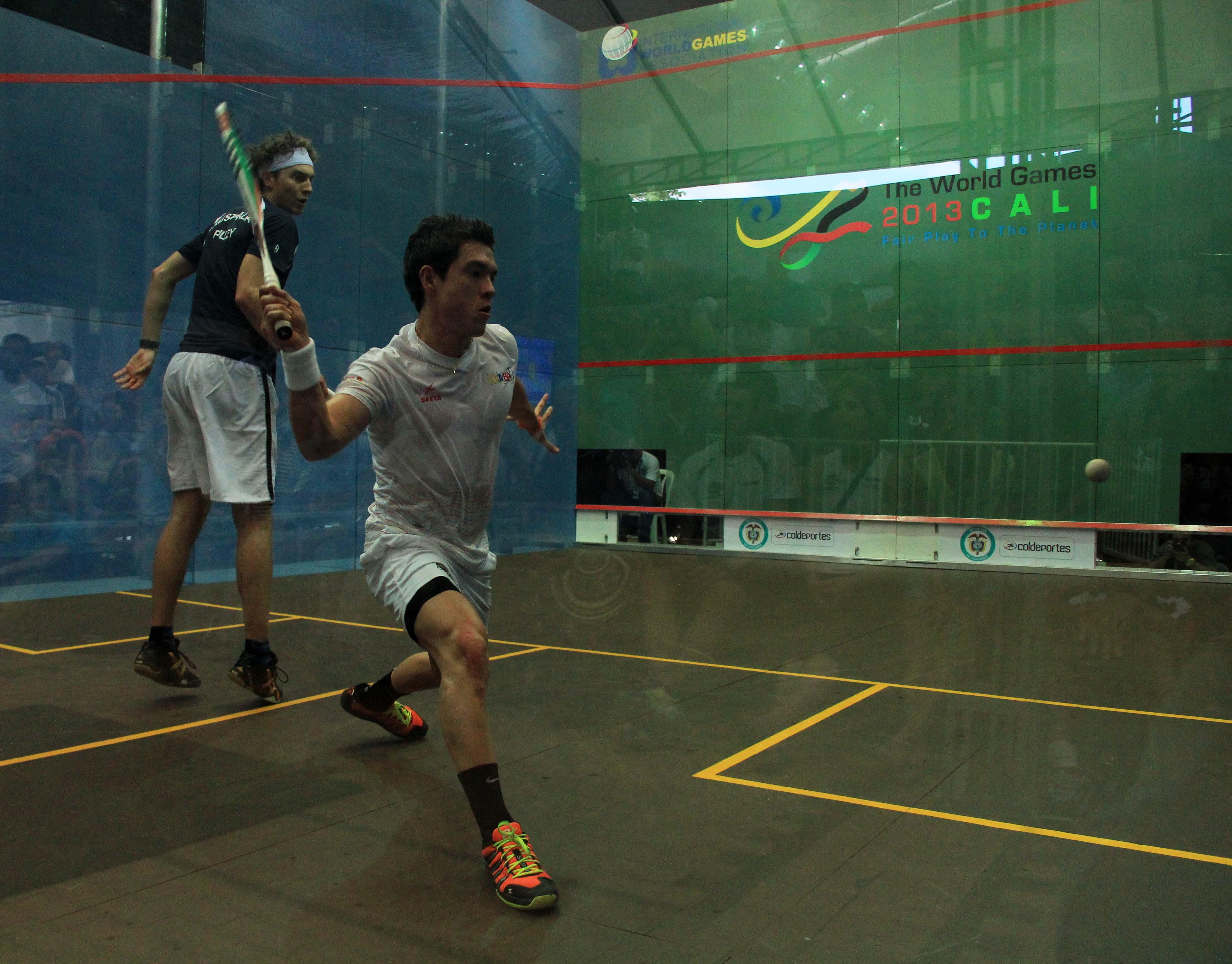 Colombia por el bronce en Squash