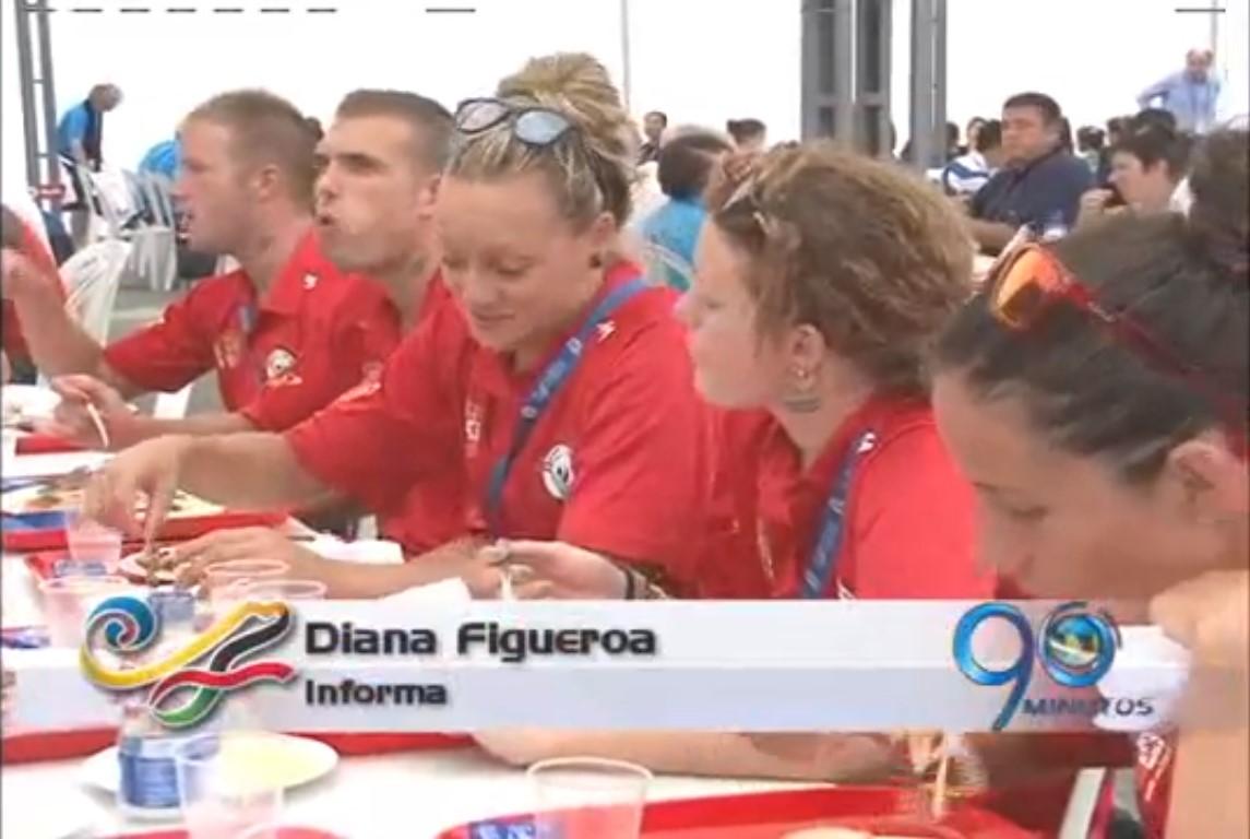 El restaurante de los Juegos atiende a 20 mil personas diariamente