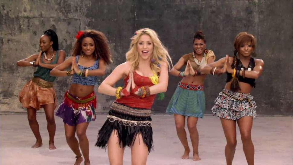 Waka Waka de Shakira, mejor himno de mundiales de fútbol